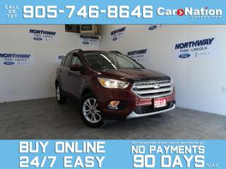 Used 2018 Ford Escape SE | NAV | REAR CAM | HEATED SEATS | NEW CAR TRADE for sale in Brantford, ON