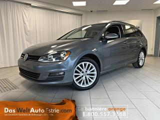 Used 2015 Volkswagen Golf Sportwagen Trendline, Gr. Électrique, A/C, Manuel for sale in Sherbrooke, QC