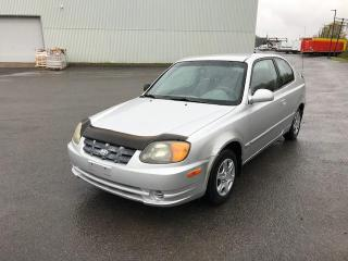 Used 2005 Hyundai Accent Hayon à 3 portes GS, boîte manuelle for sale in Québec, QC