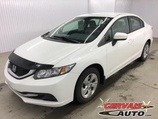 Used 2015 Honda Civic LX CAMÉRA DE RECUL SIÈGES CHAUFFANTS for sale in Shawinigan, QC