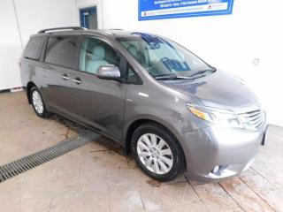 Used 2017 Toyota Sienna XLE NAVI AWD for sale in Listowel, ON
