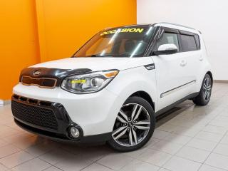 Used 2015 Kia Soul SX SIÈGES CHAUFF / VENTILÉS NAV CUIR *TOIT PANO* for sale in Mirabel, QC