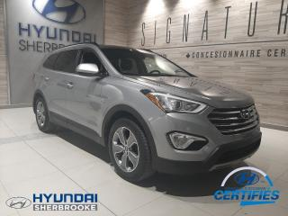 Used 2016 Hyundai Santa Fe XL 7 PLACE PREMIUM AWD BANCS/VOLANT CHAUFF for sale in Sherbrooke, QC