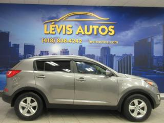 Used 2011 Kia Sportage LX AWD BLUETOOTH AIR CLIMATISÉ BANC CHAU for sale in Lévis, QC