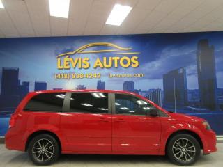 Used 2015 Dodge Grand Caravan SXT BLACKTOP STOW'N GO 107700 KM AIR CLI for sale in Lévis, QC