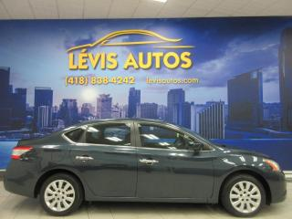 Used 2013 Nissan Sentra S AUTOMATIQUE 21800 KM AIR CLIMATISE BLU for sale in Lévis, QC