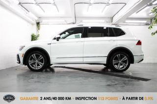 Used 2019 Volkswagen Tiguan 4MOTION Highline R Line + 5 Pass + Hid-Led + Mag for sale in Québec, QC