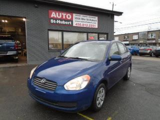 Used 2010 Hyundai Accent L for sale in St-Hubert, QC
