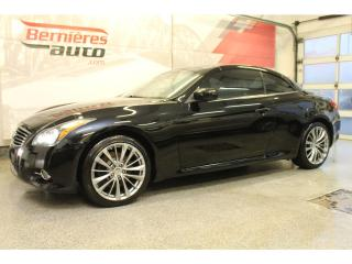 Used 2013 Infiniti G37 Convertible for sale in Lévis, QC