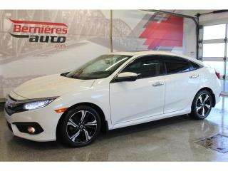Used 2016 Honda Civic TOURING CUIR + TOIT + GPS for sale in Lévis, QC