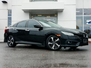 Used 2017 Honda Civic Sedan Touring for sale in Kingston, ON