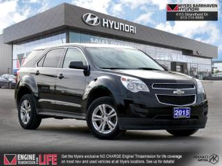Used 2015 Chevrolet Equinox LS  - Bluetooth -  SiriusXM - $108 B/W for sale in Nepean, ON