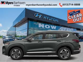 New 2020 Hyundai Santa Fe 2.0T Ultimate AWD  - Navigation - $276 B/W for sale in Nepean, ON