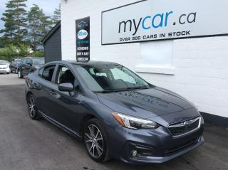 Used 2017 Subaru Impreza Sport SUNROOF, HEATED PWR SEAT, ALLOYS, BACKUP CAM!! for sale in North Bay, ON