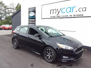 Used 2017 Ford Focus UPGRADED ALLOYS, HEATED SEATS, BACKUP CAM!! for sale in North Bay, ON