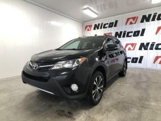 Used 2015 Toyota RAV4 XLE Nicol Occasion, le leader régional for sale in La Sarre, QC