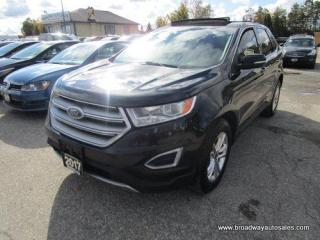 Used 2017 Ford Edge ALL-WHEEL DRIVE SEL MODEL 5 PASSENGER 3.5L - V6.. NAVIGATION.. LEATHER.. HEATED SEATS & WHEEL.. BACK-UP CAMERA.. PANORAMIC SUNROOF.. BLUETOOTH.. for sale in Bradford, ON