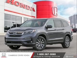 New 2021 Honda Pilot EX-L Navi LEATHER INTERIOR | APPLE CARPLAY™ & ANDROID AUTO™ | HEATED SEATS for sale in Cambridge, ON