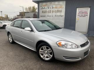 Used 2011 Chevrolet Impala ***LS,AUTOMATIQUE,BAS KILO,MAGS,AC*** for sale in Longueuil, QC