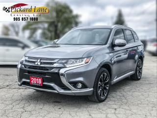 Used 2018 Mitsubishi Outlander Phev SE HYBRID! | ACCIDENT FREE! | ONE OWNER! | ONTARIO VEHICLE! | for sale in Bolton, ON