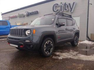 Used 2016 Jeep Renegade Trailhawk for sale in Medicine Hat, AB