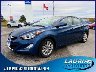 Used 2016 Hyundai Elantra GL Sport Appearance - LOW KMS for sale in Port Hope, ON