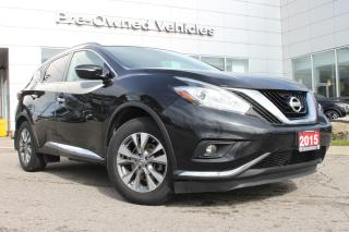 Used 2015 Nissan Murano SV ONE OWNER ACCIDENT FREE TRADE. NISSAN CERTIFIED PREOWNED! for sale in Toronto, ON