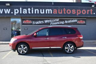 Used 2014 Nissan Pathfinder SL NO ACCIDENTS!! HEATED SEATS FRONT AND BACK!! LEATHER!! for sale in Saskatoon, SK