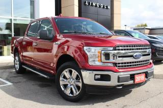 Used 2018 Ford F-150 XLT CREW CAB 4X4 CERTIFIED! NAVIGATION for sale in Hamilton, ON