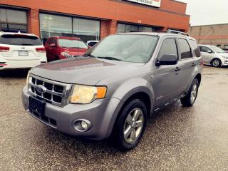 Used 2008 Ford Escape 4WD 4dr V6 XLT|LEATHER|HEATED SEATS|TRAILER HITCH| for sale in North York, ON