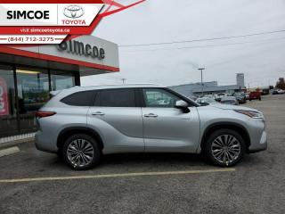 New 2021 Toyota Highlander Hybrid Limited  - $446 B/W for sale in Simcoe, ON
