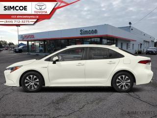 New 2021 Toyota Corolla Hybrid CVT w/Li Battery Premium  - $199 B/W for sale in Simcoe, ON