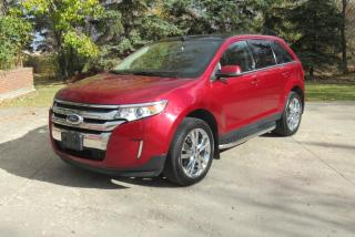 Used 2013 Ford Edge Limited for sale in Rosenort, MB