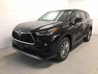 New 2021 Toyota Highlander HYBRID Limited HYBRID PLATINUM+LOADED!! for sale in Cobourg, ON