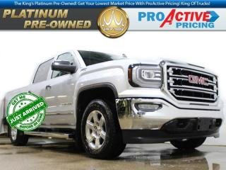 Used 2016 GMC Sierra 1500 SLT   Crew   5.3L V8   Sunroof   Rear Camera   Pwr for sale in Virden, MB
