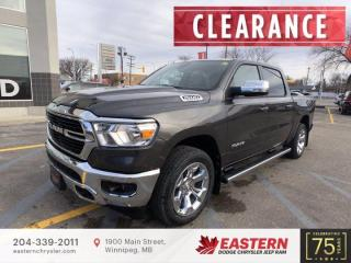 New 2021 RAM 1500 Big Horn | Backup Camera | 0% Available | for sale in Winnipeg, MB