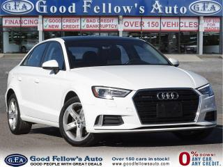 Used 2017 Audi A3 KOMFOTR, AWD, PARKING ASSIST FRONT, LEATHER SEATS for sale in Toronto, ON