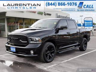Used 2018 RAM 1500 Sport!!  HEATED SEATS & WHEEL!!  NAV!! for sale in Sudbury, ON
