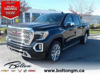 New 2020 GMC Sierra 1500 Denali - Leather Seats - Diesel Engine for sale in Bolton, ON