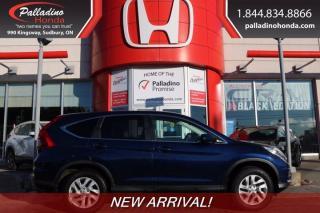 Used 2016 Honda CR-V SE for sale in Sudbury, ON