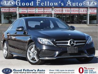 Used 2017 Mercedes-Benz C 300 SPORT PKG, 4MATIC, BLIND SPOT MONITORING, PANROOF for sale in Toronto, ON