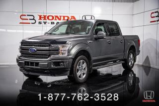 Used 2019 Ford F-150 LARIAT + SPORT + CREW + ECOBOOST + WOW! for sale in St-Basile-le-Grand, QC