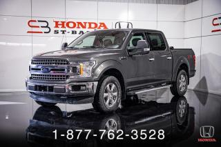Used 2018 Ford F-150 XLT + XTR + CREW CAB + 4X4 + WOW! for sale in St-Basile-le-Grand, QC