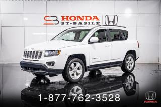 Used 2015 Jeep Compass HIGH ALTITUDE + 4WD + CUIR + TOIT + WOW! for sale in St-Basile-le-Grand, QC