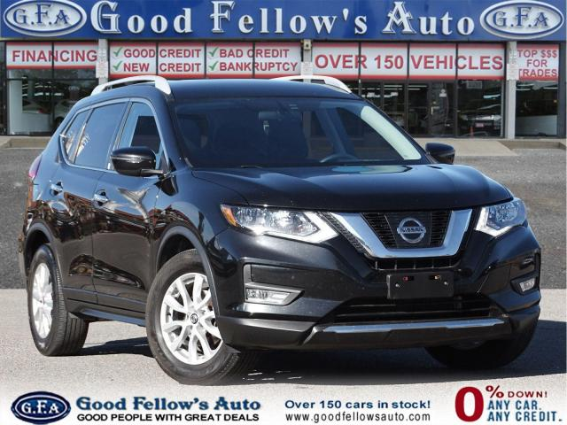 2017 Nissan Rogue SV MODEL, AERVIEW CAMERA, ACTIVE BLIND SPOT ASSIST