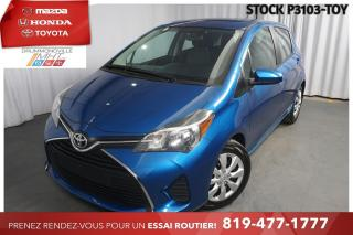 Used 2016 Toyota Yaris LE  CLIMATISATION  BAS KILO for sale in Drummondville, QC