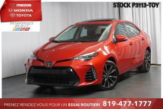 Used 2017 Toyota Corolla SE| TOIT| MAGS 17| MANUELLE! for sale in Drummondville, QC