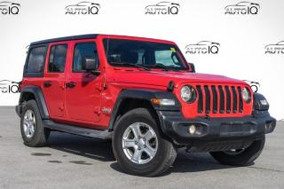 Used 2019 Jeep Wrangler UNLIMITED SPORT for sale in Barrie, ON