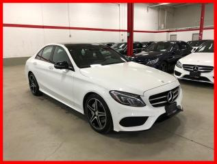 Used 2017 Mercedes-Benz C-Class C300 4MATIC NIGHT PREMIUM PLUS ACTIVE LED 360 CAM for sale in Vaughan, ON
