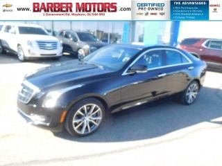 Used 2015 Cadillac ATS Sedan Luxury AWD for sale in Weyburn, SK